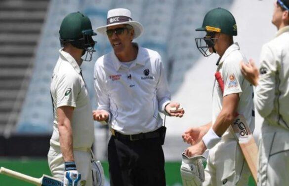 AUS vs NZ- बॉक्सिंग डे टेस्ट मैच के पहले दिन स्टीवन स्मिथ और अंपायर के बीच इस बात को लेकर हुई जोरदार बहस 46