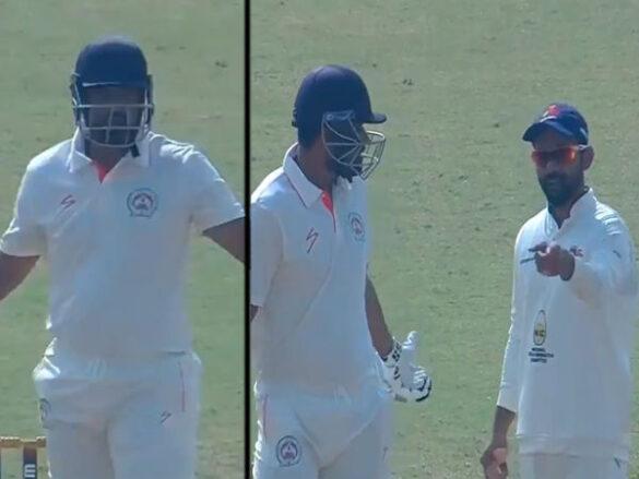 मुंबई-बड़ौदा रणजी मैच में युसुफ पठान और अजिंक्य रहाणे के बीच इस बात को लेकर बहस 7