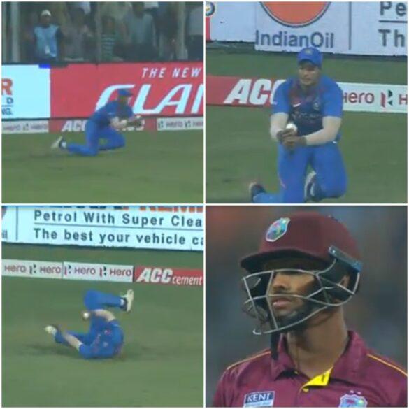 IND vs WI- वेस्टइंडीज के खिलाफ तीसरे टी20 मैच में शिवम दुबे ने पकड़ा जबरदस्त कैच, कैच देख हुआ हर कोई हैरान 17