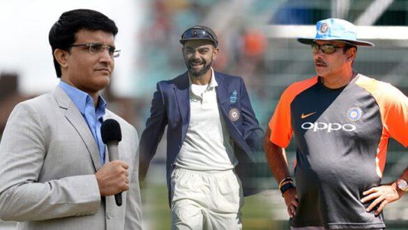टी20 विश्व कप से पहले रवि शास्त्री और विराट कोहली से इस विशेष मुद्दे पर चर्चा करेंगे सौरव गांगुली 24