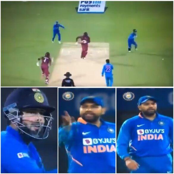 IND vs WI- फील्डिंग के दौरान रोहित शर्मा हुए नाराज, कैमरे के सामने ही इन्हें दी गाली, स्टम्प माइक में हुआ रिकॉर्ड 1