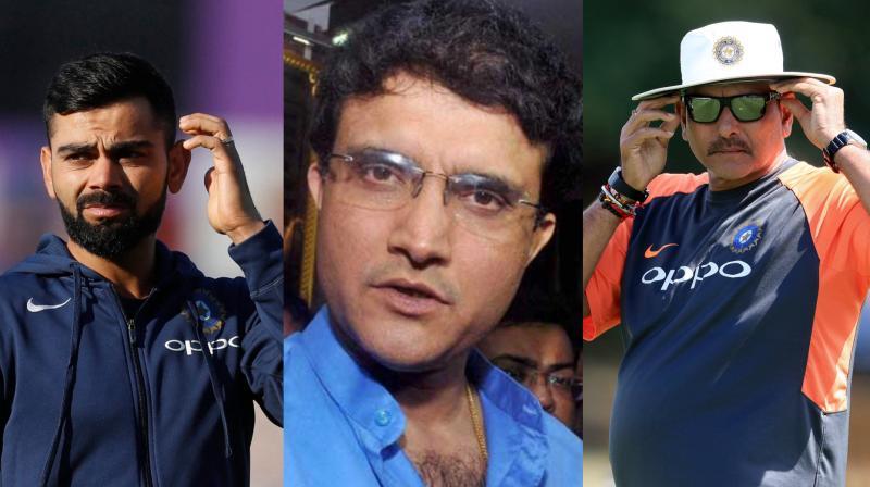 टी20 विश्व कप से पहले रवि शास्त्री और विराट कोहली से इस विशेष मुद्दे पर चर्चा करेंगे सौरव गांगुली 2
