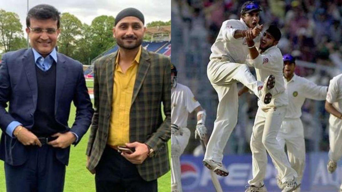 सौरव गांगुली ने कहा हरभजन सिंह को गेंदबाजी करते देखना पहली नजर में लड़की से होना जैसा था 1