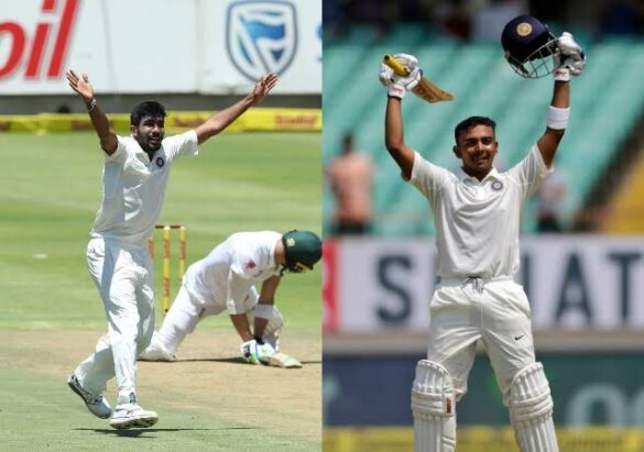जल्द हो सकती है टीम इंडिया में जसप्रीत बुमराह और पृथ्वी शॉ की वापसी, फिटनेस टेस्ट के लिए बुलाया गया 10