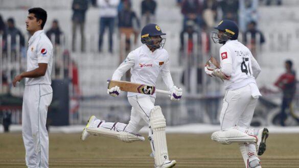 PAK v SL : रोमांचक मोड़ पर पहुंचा कराची टेस्ट, ऐसा रहा मैच के दूसरे दिन का हाल 1