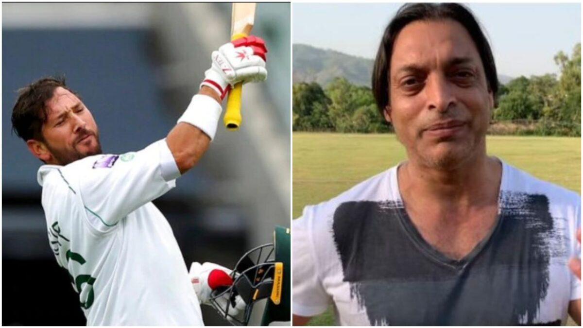 यासिर शाह के शतक के बाद शोएब अख्तर के निशाने पर आये पाकिस्तानी बल्लेबाज