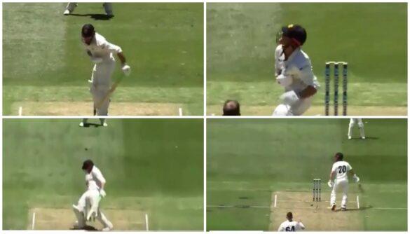 वीडियो : खराब पिच की वजह से बीच में रोका गया मैच, बल्लेबाज कुछ इस तरह हो रहे थे चोटिल 22