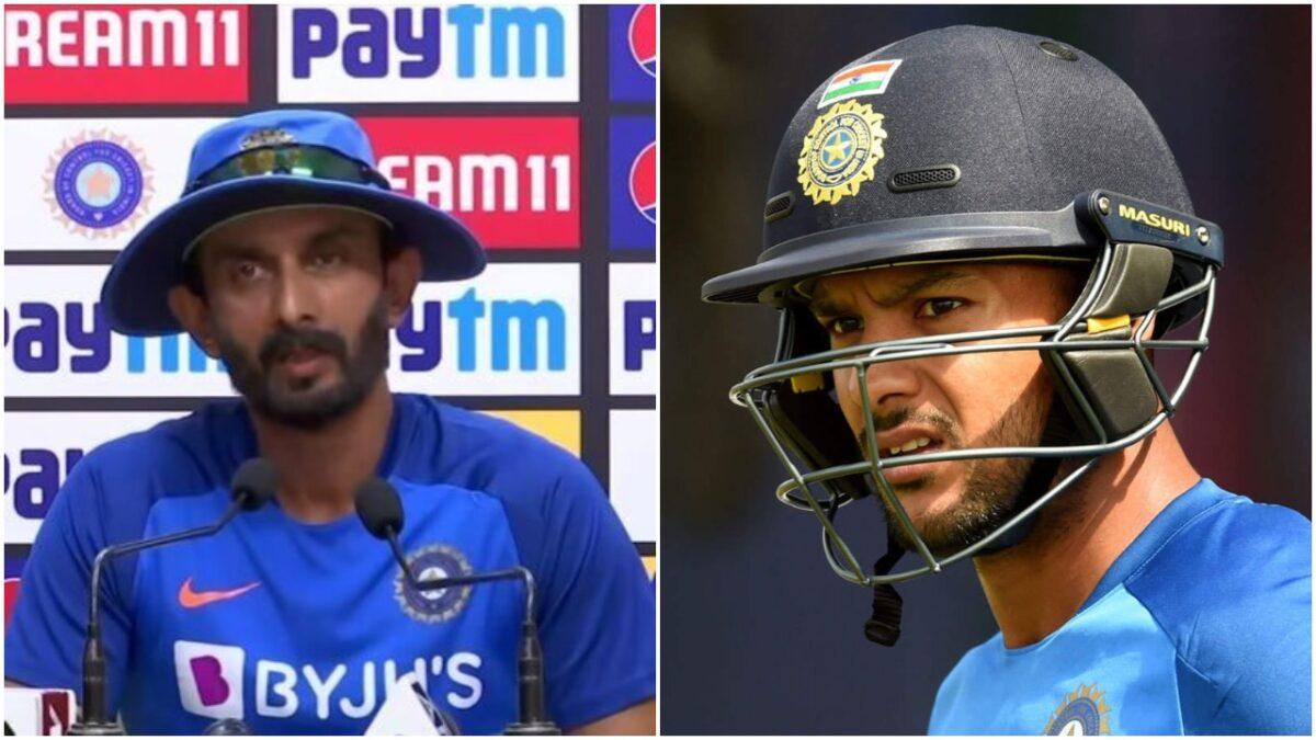 IND vs WI : क्या मयंक अग्रवाल को मिलेगा डेब्यू का मौका? बल्लेबाजी कोच विक्रम राठौर ने दिया जवाब