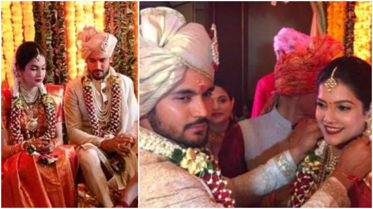 PHOTOS : भारतीय खिलाड़ी मनीष पांडे ने इस अभिनेत्री से रचाई शादी, यहाँ देखें सभी तस्वीरें