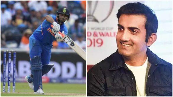 ऋषभ पंत के 71 रनों की पारी के बावजूद गौतम गंभीर को है विकेटकीपर से ये शिकायत 35