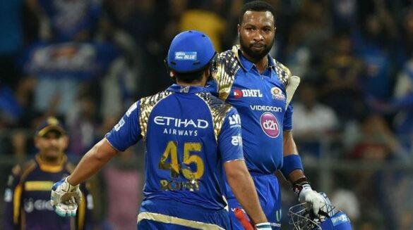 उनकी कप्तानी में वेस्टइंडीज अलग टीम हो जाती है, अपने आईपीएल साथी कीरोन पोलार्ड के बारे में रोहित शर्मा 11