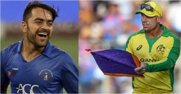 IND vs AUS- डेविड वार्नर के पतंग वाले नजारें को लेकर राशिद खान ने दिया ये मजेदार रिएक्शन 5