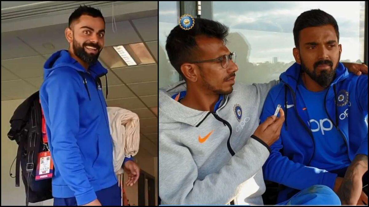सोशल मीडिया पर युजवेंद्र चहल ने सरेआम उड़ाया विराट कोहली और केएल राहुल की बल्लेबाजी का मजाक