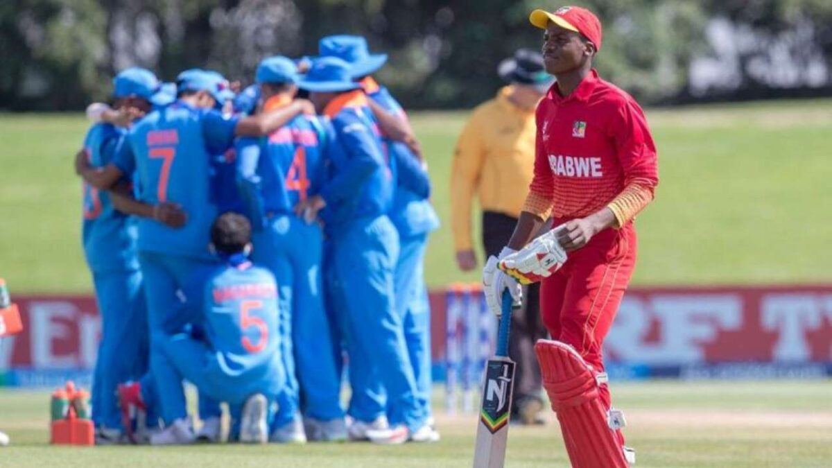 इंडिया अंडर19 ने जिम्बाब्वे अंडर19 को 89 का हराया, दिव्यांश सक्सेना बने जीत के हीरो
