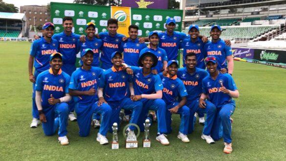 अंडर-19 विश्व कप से पहले भारतीय जूनियर टीम का धमाका, 3 देशों को मात दे जीता फाइनल 5