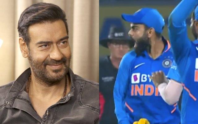 """बॉलीवुड दिग्गज अजय देवगन ने भारत के कप्तान विराट कोहली को बताया क्रिकेट का """"तानाजी"""""""