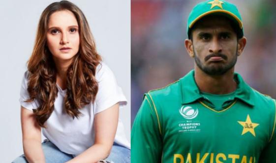 लम्बे समय बाद टेनिस कोर्ट में वापसी पर हसन अली ने सानिया मिर्जा को इस अंदाज में दी बधाई