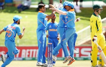 क्वार्टर फाईनल में ऑस्ट्रेलिया को हराने के साथ ही भारतीय अंडर-19 टीम के नाम दर्ज हुए कई ऐतिहासिक कीर्तिमान 4