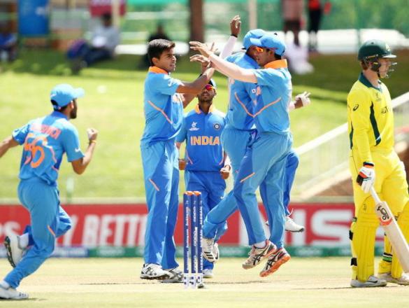 क्वार्टर फाईनल में ऑस्ट्रेलिया को हराने के साथ ही भारतीय अंडर-19 टीम के नाम दर्ज हुए कई ऐतिहासिक कीर्तिमान 23