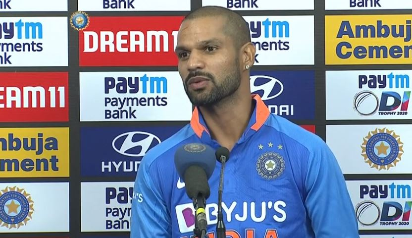 10 विकेट से मैच गंवाने के बाद अपने बल्लेबाजी क्रम पर बोले शिखर धवन, देश के लिए…….