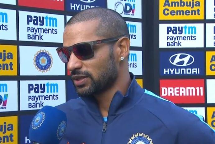 टीम इंडिया ने दिया ऑस्ट्रेलिया को 341 रनों का लक्ष्य तो शिखर धवन ने की इस खिलाड़ी की तारीफ़