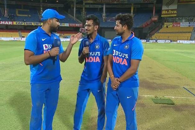 सीरीज जीतने के बाद 'चहल टीवी' पर रोहित शर्मा ने किया लंबे-लंबे छक्के मारने की तकनीक का खुलासा