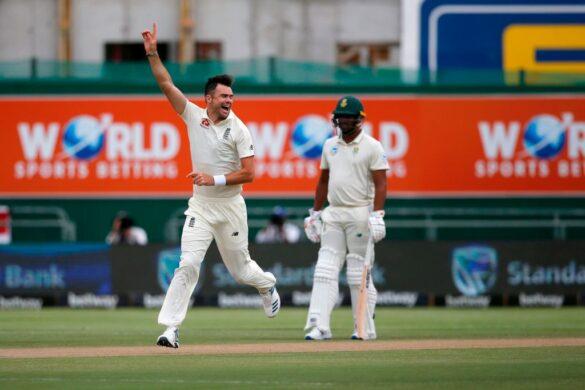 जेम्स एंडरसन ने 5 विकेट लेकर रविचंद्रन अश्विन को पीछे छोड़ा 13