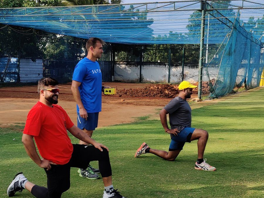 सुरेश रैना और अंबाती रायडू ने चेन्नई पहुंचकर की आईपीएल 2020 के ट्रेनिंग की शुरुआत
