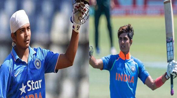 भारतीय वनडे टीम में चयन ना होने के बाद शुभमन गिल ने जड़ा तूफानी अर्द्धशतक, पृथ्वी शॉ हुए बाहर 5