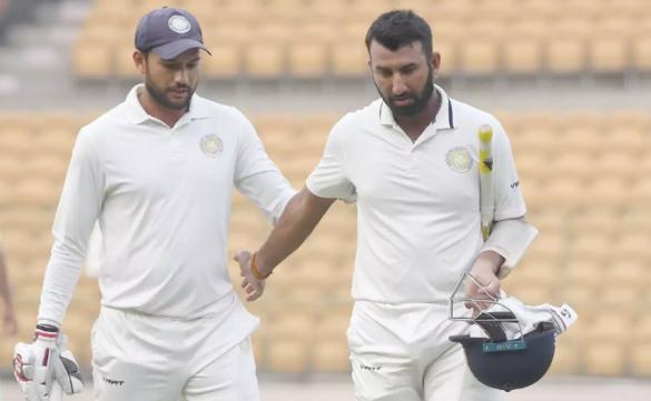 रणजी ट्रॉफी 2019-20: कर्नाटक के खिलाफ शतक बनाते ही सचिन-गावस्कर की श्रेणी में शामिल हुए चेतेश्वर पुजारा 4