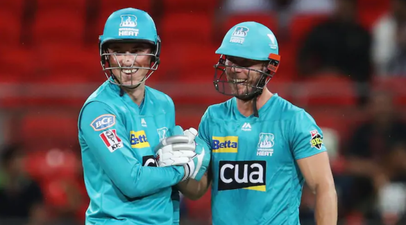 केकेआर के बल्लेबाज ने बिग बैश में एक ओवर में जड़े 5 छक्के, देखें वीडियो 5