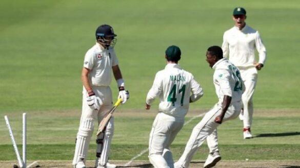 इंग्लैंड की पहली पारी के 499 रन के जवाब पर, साउथ अफ्रीका 208/6 रन 10