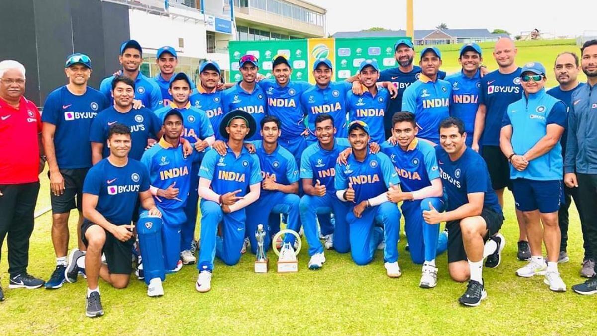 U-19 भारत ने दक्षिण अफ्रीका को उसी के घर पर हराकर जीती सीरीज, इस खिलाड़ी ने लगाया शतक