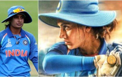 सामने आया मिताली राज की बायोपिक 'शाब्बाश मिथु' का पहला पोस्टर, इस दिन रिलीज़ होगी फिल्म! 3