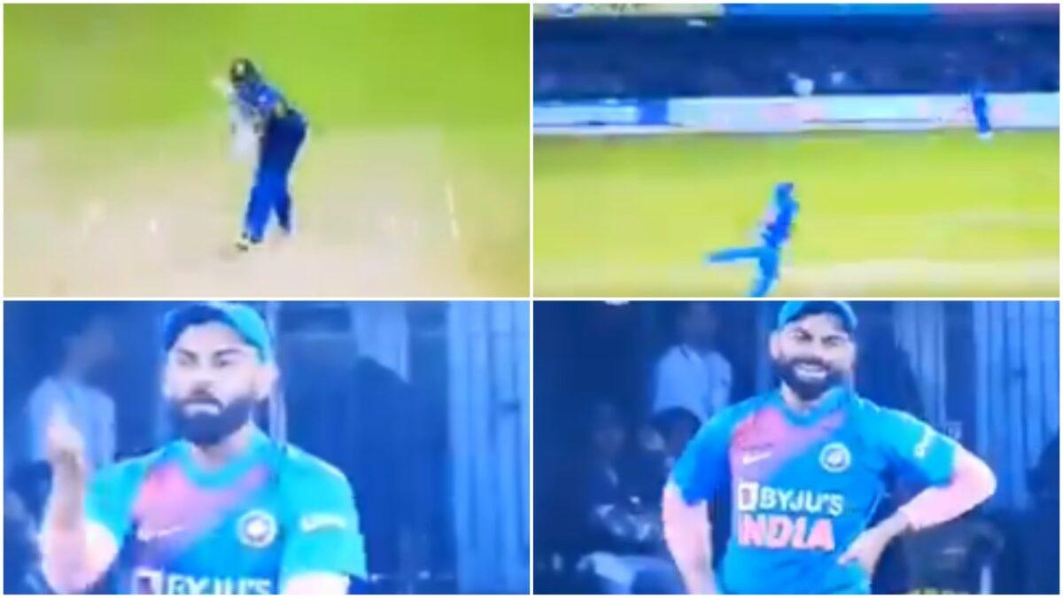 वीडियो: श्रेयस अय्यर ने गलत छोर पर किया थ्रो, देखने लायक था कप्तान विराट कोहली का रिएक्शन