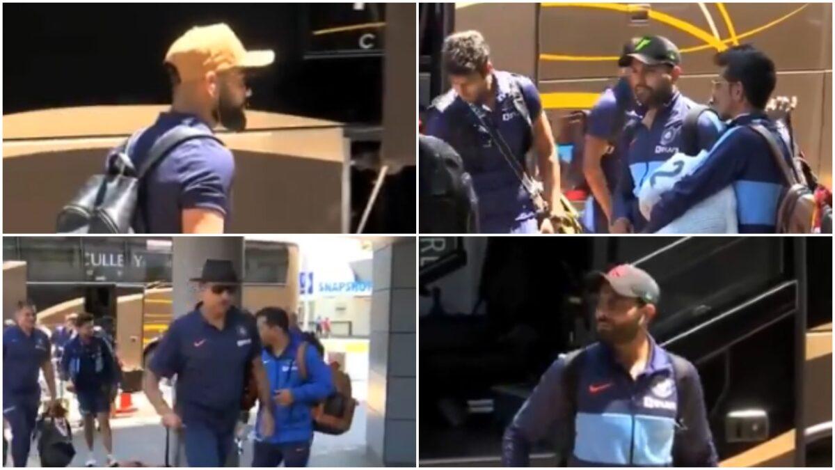 टी-20 सीरीज अपने नाम करने के इरादे से हैमिल्टन पहुंची भारतीय टीम, देखें वीडियो