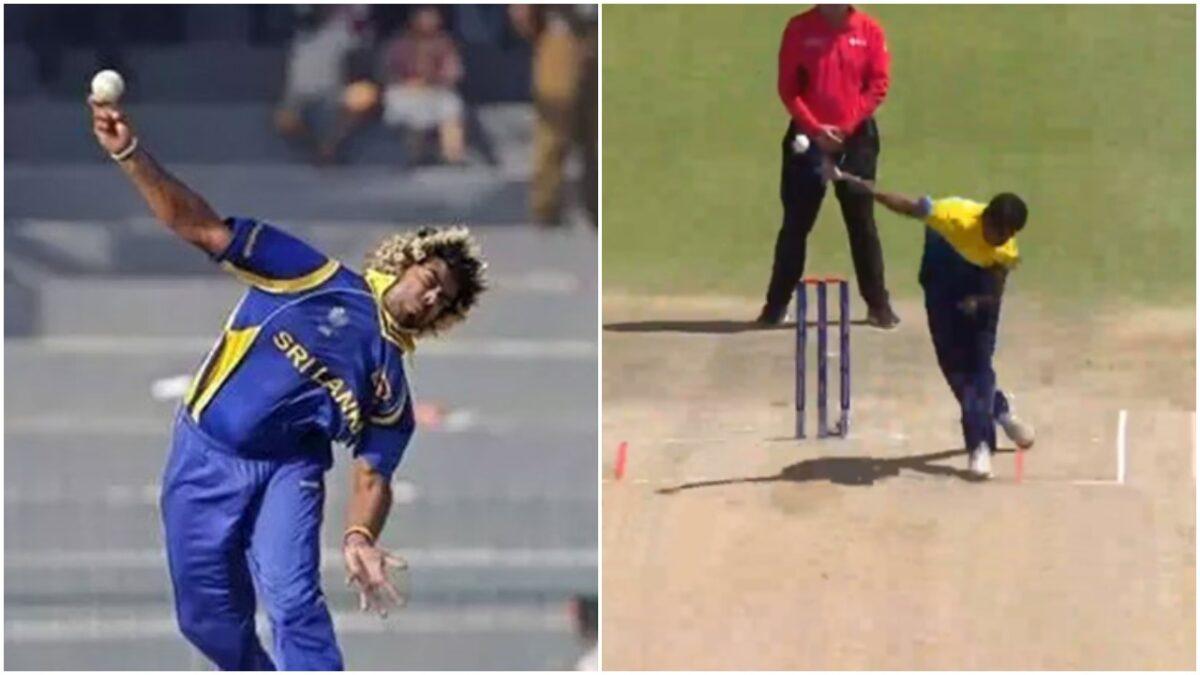 श्रीलंका को मिला नया लसिथ मलिंगा, क्या क्रिकेट में करेंगा वैसा ही कमाल? देखें वीडियो