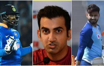 गौतम गंभीर ने केएल राहुल की कीपिंग की तरीफ करते हुए, टीम मैनेजमेंट के सामने खड़े किए कुछ बड़े सवाल 3