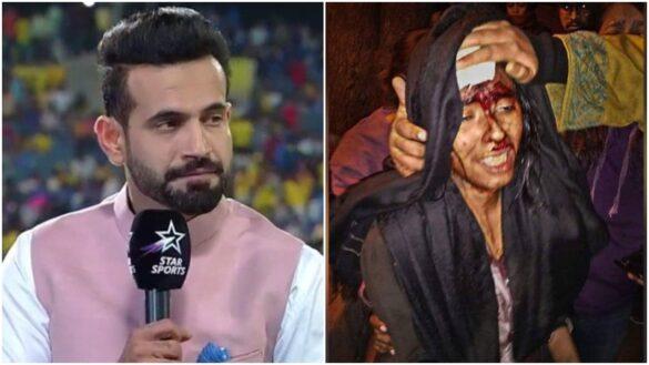 इरफान पठान ने जेएनयू में हुई हिंसा की पर कहा, यह भारत... 16