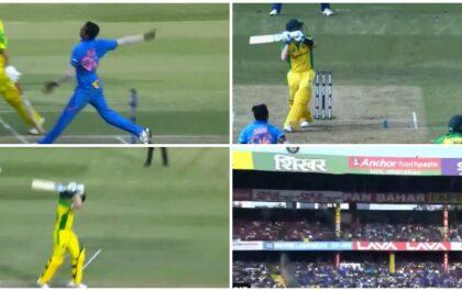 IND vs AUS: स्टीव स्मिथ ने तीसरे वनडे में लगाया महेंद्र सिंह धोनी का सिग्नेचर हेलीकॉप्टर शॉट, देखें वीडियो 2