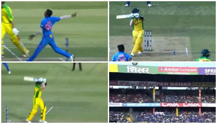 IND vs AUS: स्टीव स्मिथ ने तीसरे वनडे में लगाया महेंद्र सिंह धोनी का सिग्नेचर हेलीकॉप्टर शॉट, देखें वीडियो