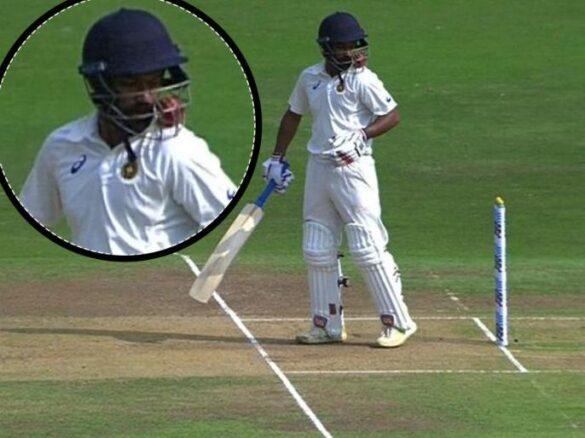 वीडियो: रणजी ट्रॉफी मैच के दौरान गेंदबाज ने डाली जानलेवा गेंद, बल्लेबाज को लगते ही मैदान में दौड़ पड़े फिजियो और खिलाड़ी 30