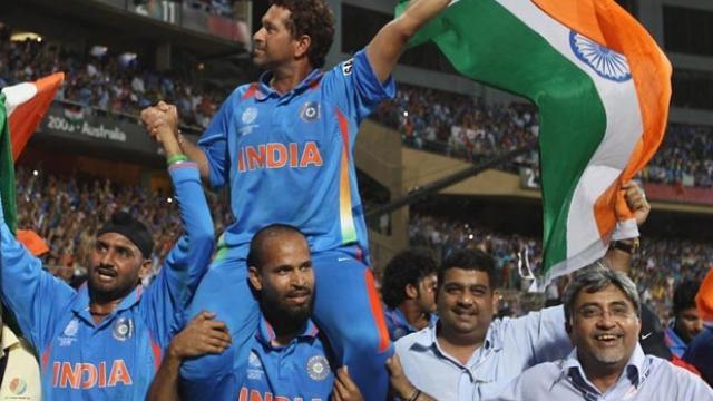 सचिन तेंदुलकर के 2011 विश्व कप जीत का क्षण लॉरियस पुरस्कार के लिए हुआ नामित