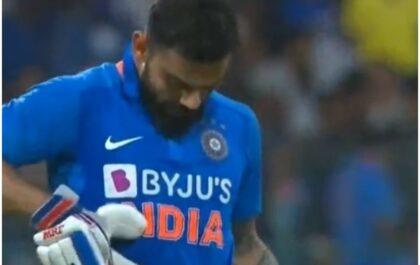 IND vs AUS- बैंगलुरू में आरसीबी-आरसीबी चिल्ला रहे थे फैंस, विराट कोहली ने रोका और किया कुछ ऐसा जीत लिया सभी का दिल 5