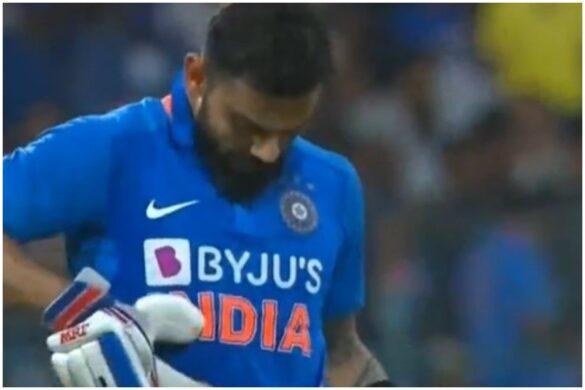 IND vs AUS- बैंगलुरू में आरसीबी-आरसीबी चिल्ला रहे थे फैंस, विराट कोहली ने रोका और किया कुछ ऐसा जीत लिया सभी का दिल 22