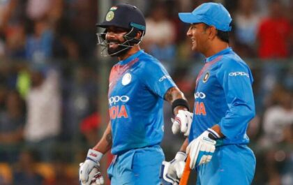 NZ vs IND: न्यूजीलैंड के विरुद्ध मात्र 25 रन बनाने के साथ ही विराट के पास रहेगा धोनी से आगे निकलने का मौका 2