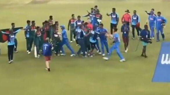 ICC ने तीन बांग्लादेशी और दो भारतीय खिलाड़ियों को पाया दोषी, फाइनल में हुए थी हाथापाई 13