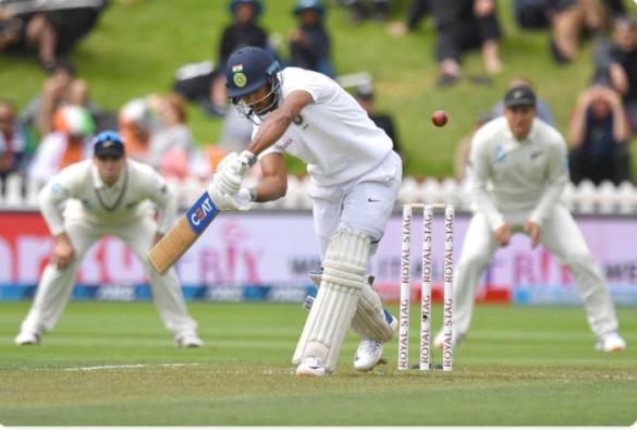 INDvsNZ 1st TEST : बारिश के चलते पहले दिन हुआ सिर्फ 55 ओवर का मैच, भारत ने बनाए 122 रन 1