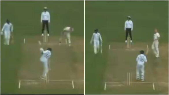 टेस्ट सीरीज से पहले फॉर्म में लौटे मयंक अग्रवाल ने खेला कपिल देव का फेमस नटराज शॉट, देखें वीडियो 1