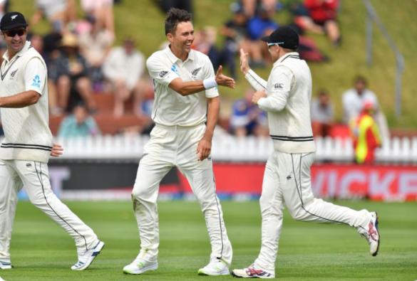 NZ vs IND: वेलिंगटन टेस्ट: चाय तक टीम इंडिया का स्कोर 78/2, दूसरे सत्र में छाए ट्रेंट बोल्ट 48